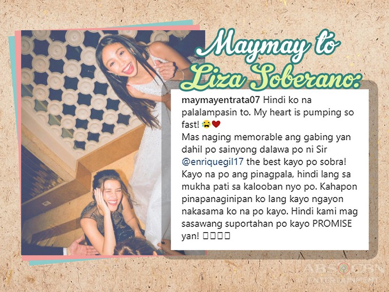 IN PHOTOS: 12 Kapamilya stars who have said the sweetest things to other celebrities!
