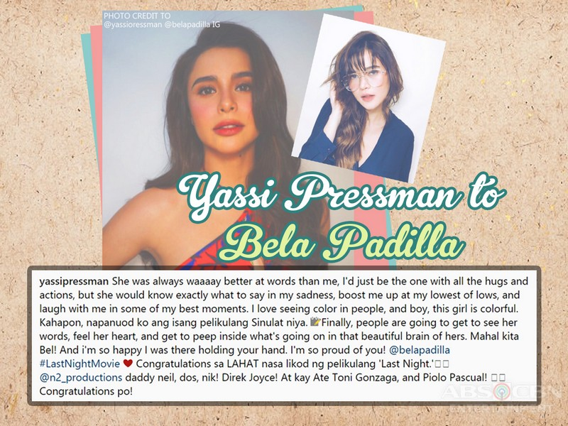 LOOK: 13 Times Kapamilya celebrities said the sweetest words to other celebs!