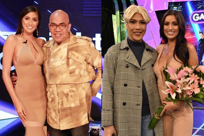 LOOK: Rachel Peters strikes fabulous poses with Kapamilya TV hosts