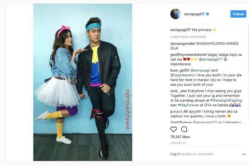 LOOK: 42 Photos of Kapamilya love teams wearing matching outfits!