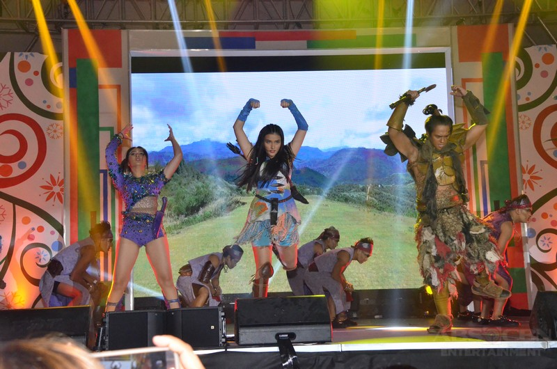Just Love: The ABS-CBN Trade Event PHOTOS: Bagani stars in action