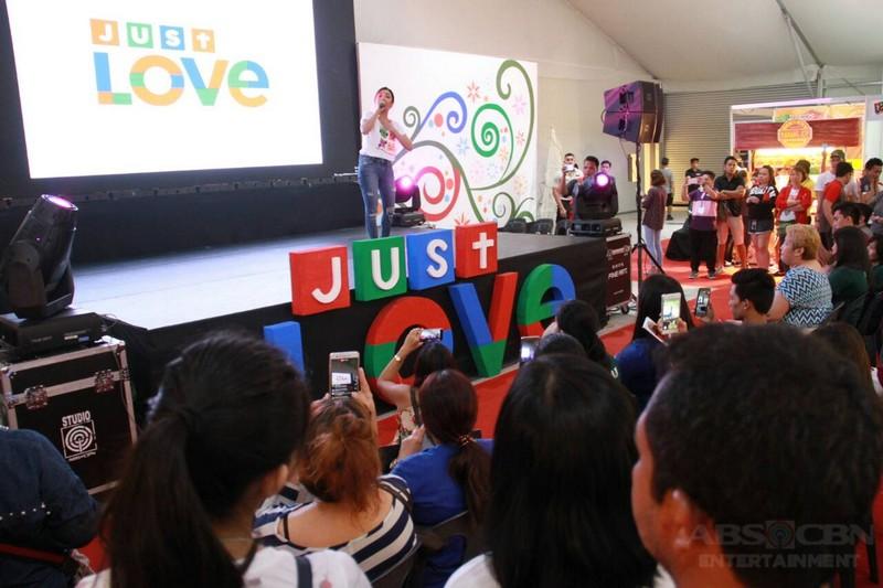Kapamilya stars grace opening of Just Love Bazaar at the ABS-CBN Vertis Tent