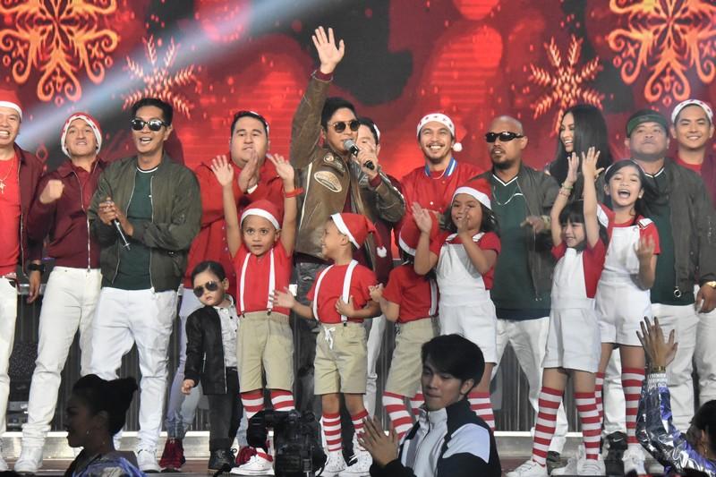 PHOTOS: Ang Panday stars, full force sa ABS-CBN Christmas Special
