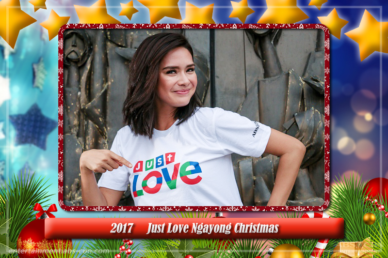 Erich Gonzales stunning transformations as seen in the ABS-CBN Christmas station IDs