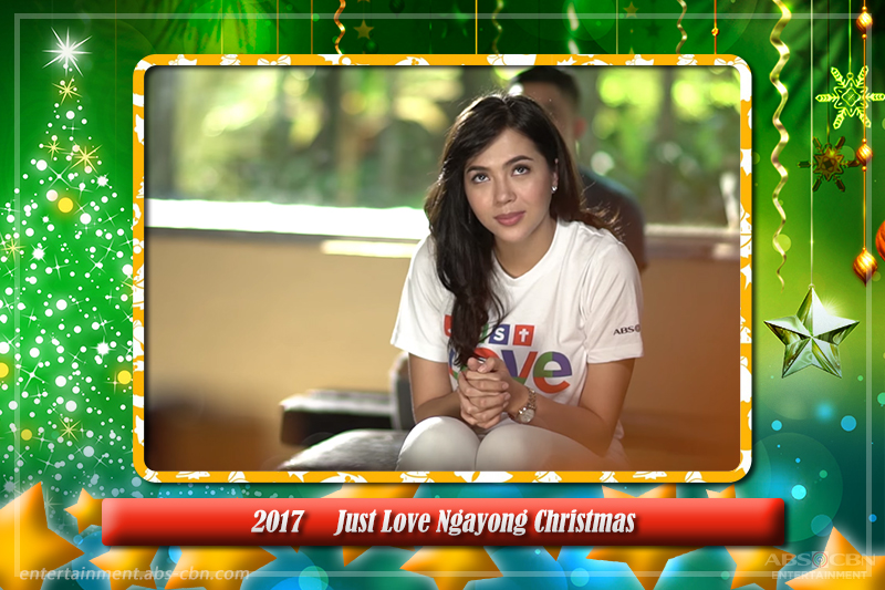 Touching encounters with Julia Montes in the ABS-CBN Christmas station IDs