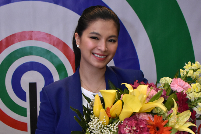 PHOTOS: Angel Locsin renews contract with ABS-CBN