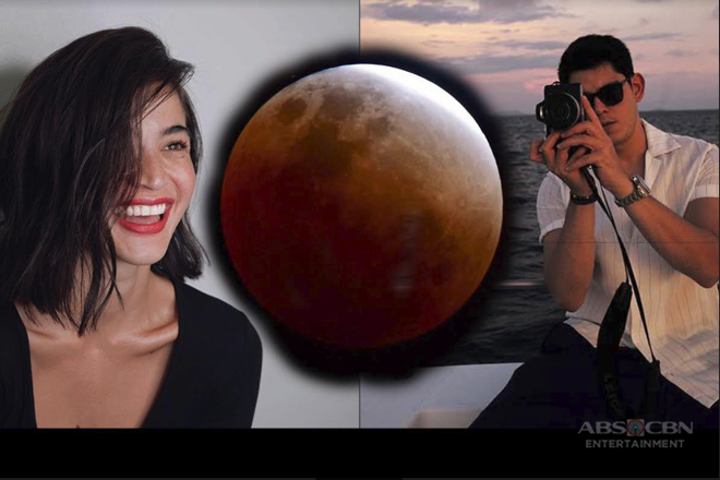 SWOON BY THE MOON: 9 celebrities who beautifully captured the Super Blue Blood Moon