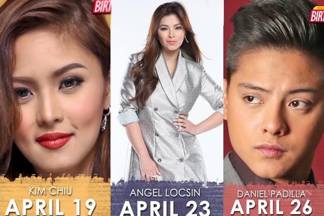 9 Kapamilya stars celebrating their birthdays this April