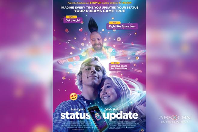 Wishes come true this summer through 'Status Update'. 'STATUS UPDATE' TO HIT PH CINEMAS