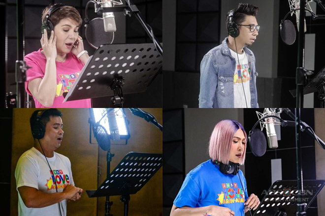 """""""It's Showtime"""" family, KZ, and Bamboo sing about Love in Action in ABS-CBN's 2018 summer theme"""