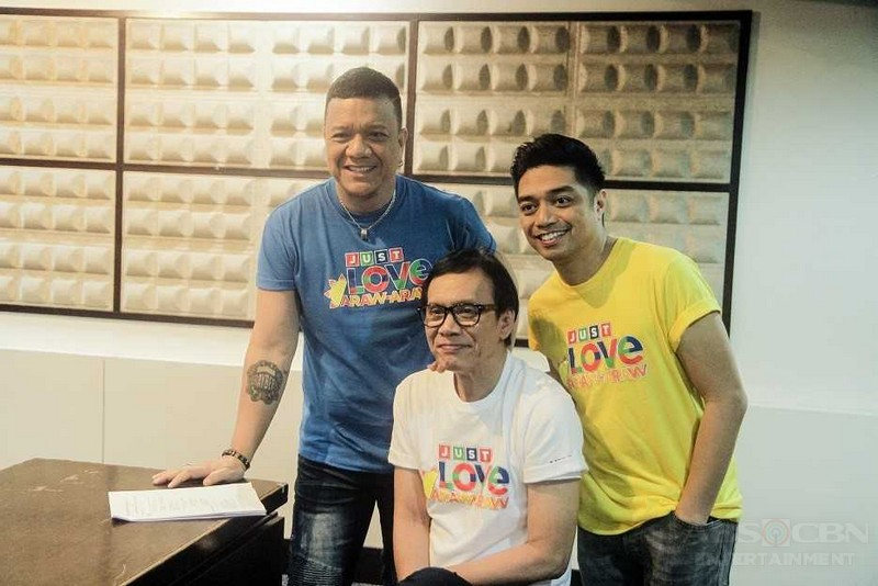 """It's Showtime"" family, KZ, and Bamboo sing about love in action in ABS-CBN's 2018 summer theme"