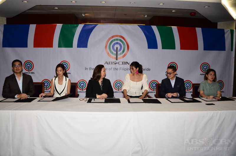 PHOTOS: Yam Concepcion renews contract with ABS-CBN