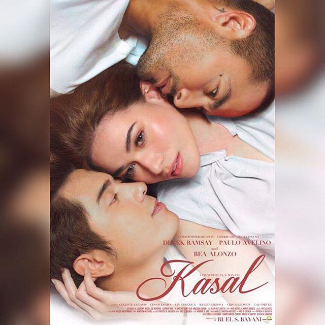 """LOOK: Bea, Paulo and Derek in Star Cinema's """"Kasal"""""""