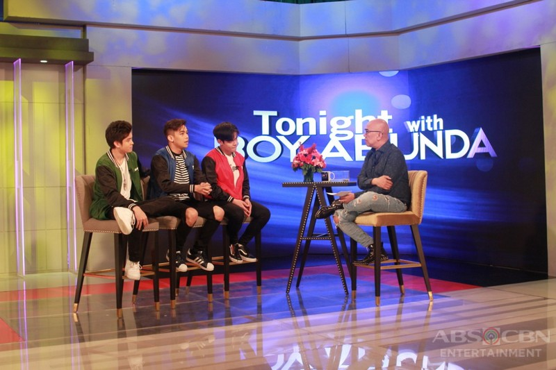 PHOTOS: Jack, Vitto and Julian on Tonight With Boy Abunda