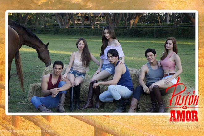THROWBACK: Arci, Ellen, Coleen, Jake, Ejay and Joseph in Pasion de Amor (2015)