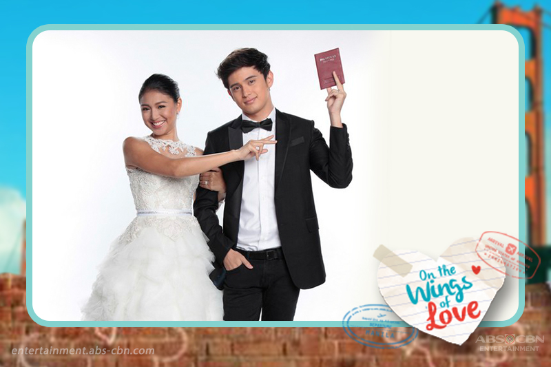 Throwback: JaDine in their first drama series On The Wings Of Love