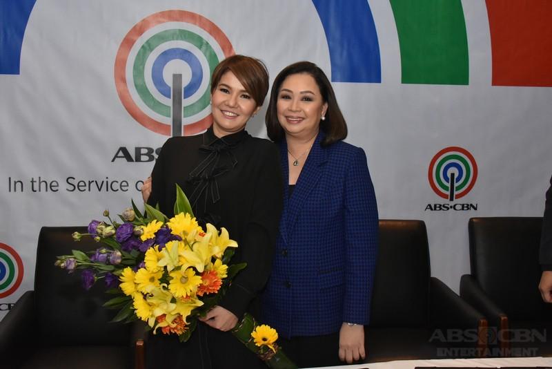 PHOTOS: Amy Perez renews contract with the Kapamilya Network