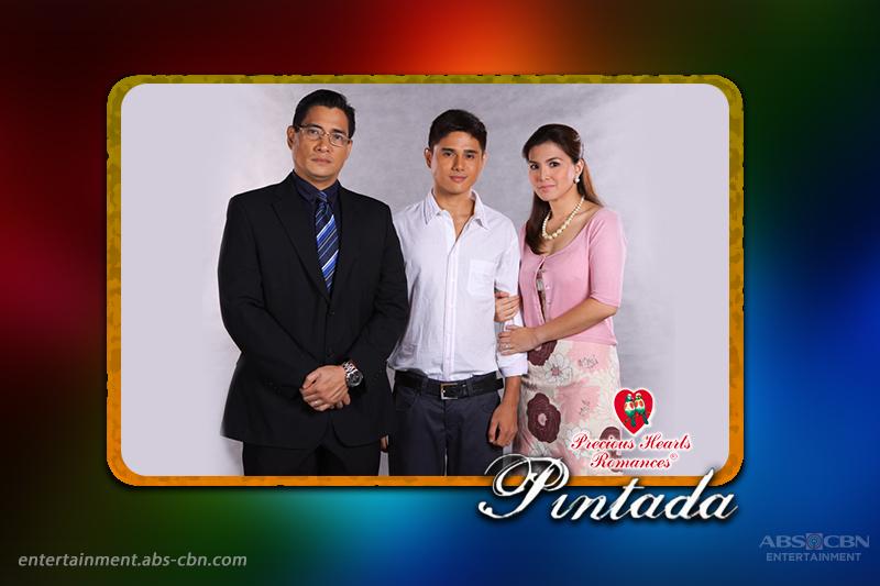 Ricardo Cepeda, Bernadette Allyson and Lemuel Pelayo in PHR Presents Pintada (2012)