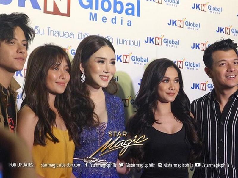 Echo, KathNiel, and Maja captivate Thailand