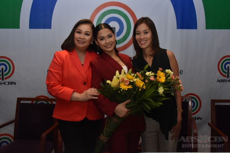 PHOTOS: Maja Salvador inks a two year contract with the Kapamilya Network