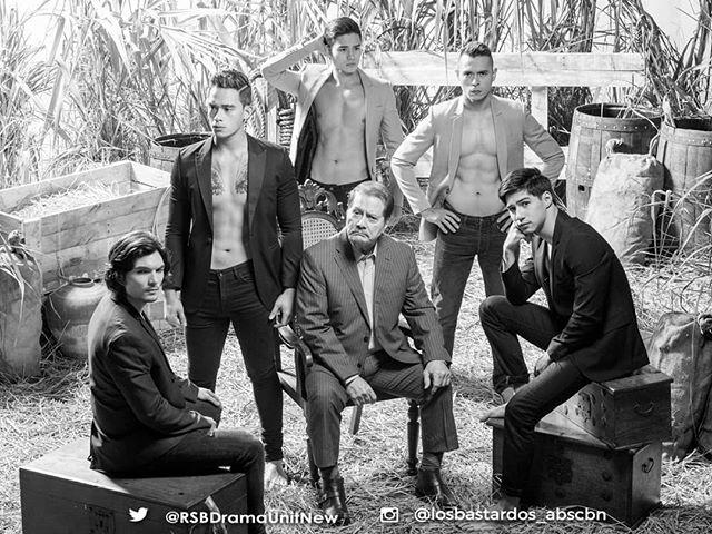 """LOOK: Ang mga makikisig na lalaki na bibida sa """"PHR Presents: Los Bastardos"""""""