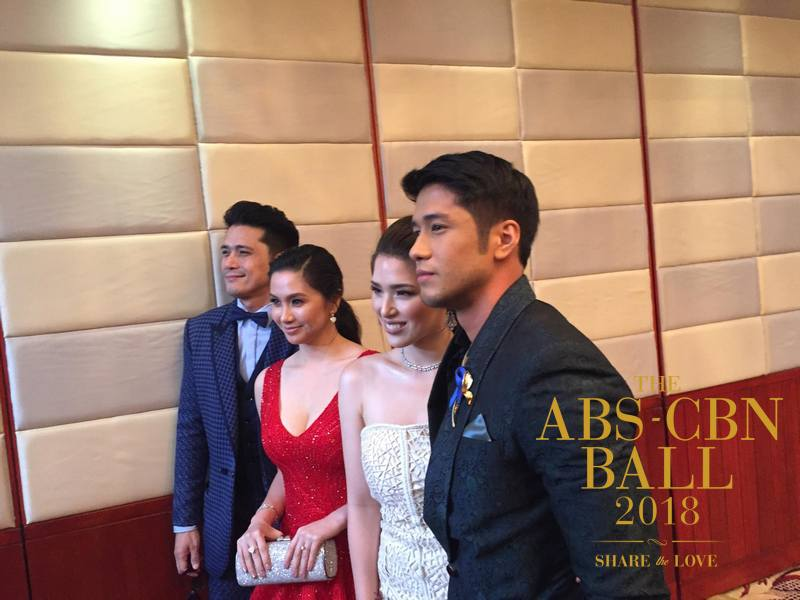 BEFORE WALKING THE RED CARPET: First look at the stunning and dazzling attendees of ABS-CBN Ball 2018