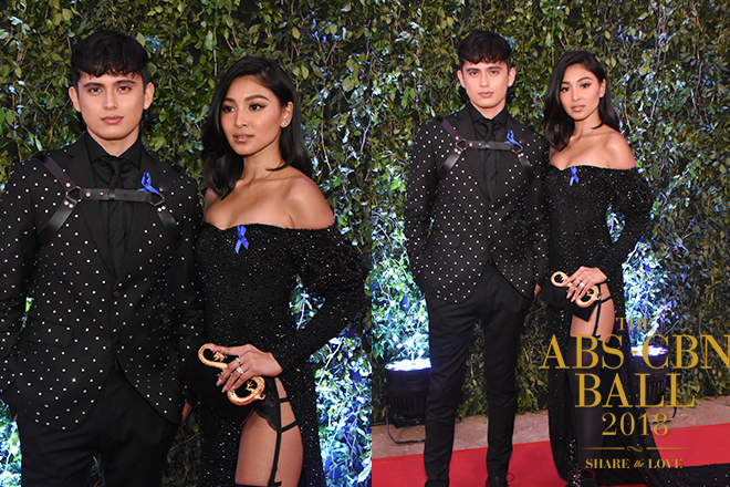 PHOTOS: JaDine stuns everyone in classy, matching black ensemble at ABS-CBN Ball 2018