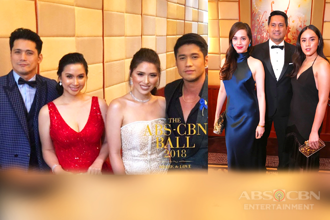 Revered celebrity families who thrilled us all at the ABS-CBN Ball 2018