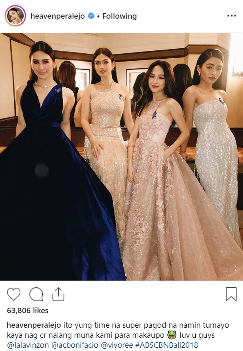 LOOK: Star besties who celebrated true friendship at the ABS-CBN Ball 2018!