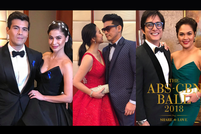 Real-life couples who spread forever love in ABS-CBN Ball 2018