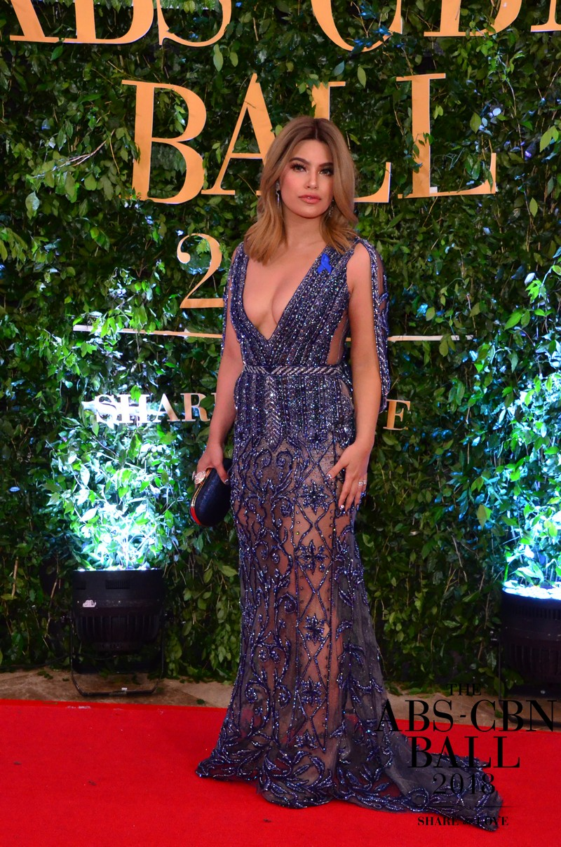 PHOTOS: Celebs who looked brilliant in blue at the ABS-CBN Ball 2018