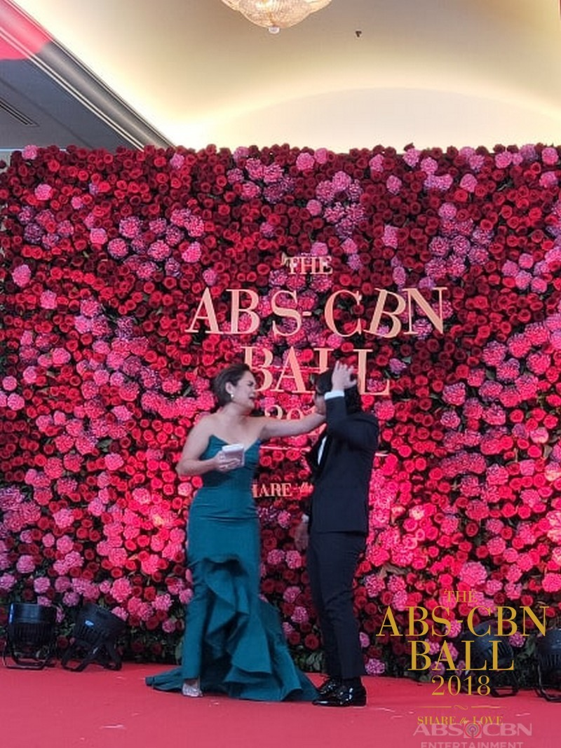 CAPTURED ON CAM: Sweet stolen moments of celebrities at the ABS-CBN Ball 2018