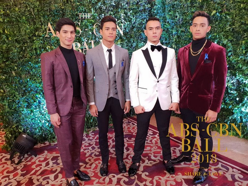 The cast of upcoming Los Bastardos giving a tease during the ABS-CBN Ball 2018
