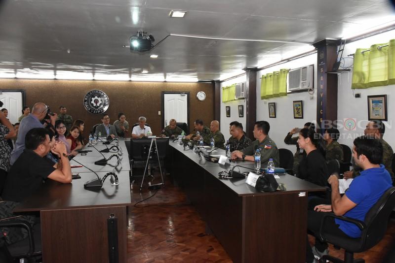 IN PHOTOS: Signing of the Memorandum of Understanding between AFP & ABS-CBN's The General' s Daughter & Take Life