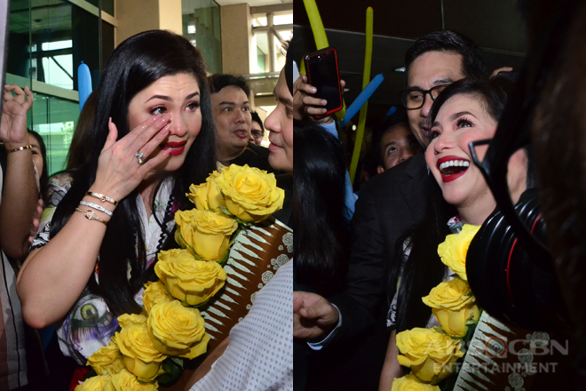IN PHOTOS: Regine Velasquez-Alcasid comes home to ABS-CBN