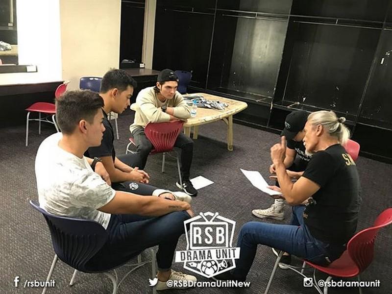 PHOTOS: Los Bastardos stars, sumabak sa isang intense workshop!