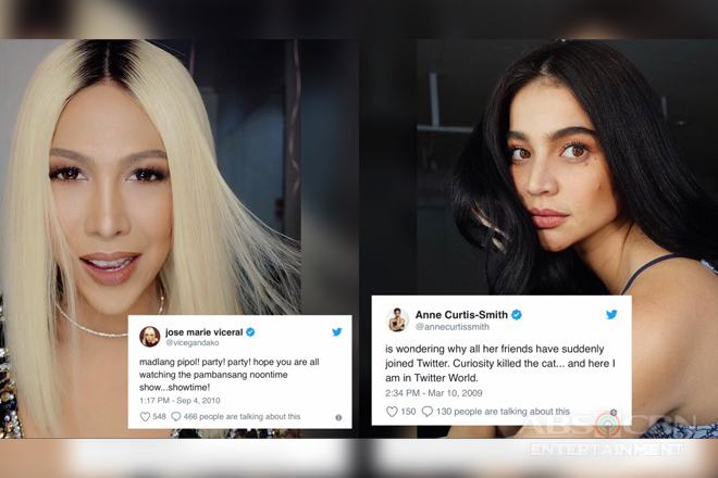 LOOK: 39 Celebrities & their hilarious first tweets!
