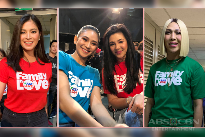 #FamilyIsLove PHOTOS: The ABS-CBN Christmas SID 2018 Shoot