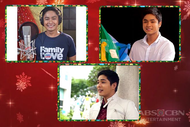 Coco Martin shows what the season of giving is all about on ABS-CBN Christmas station IDs