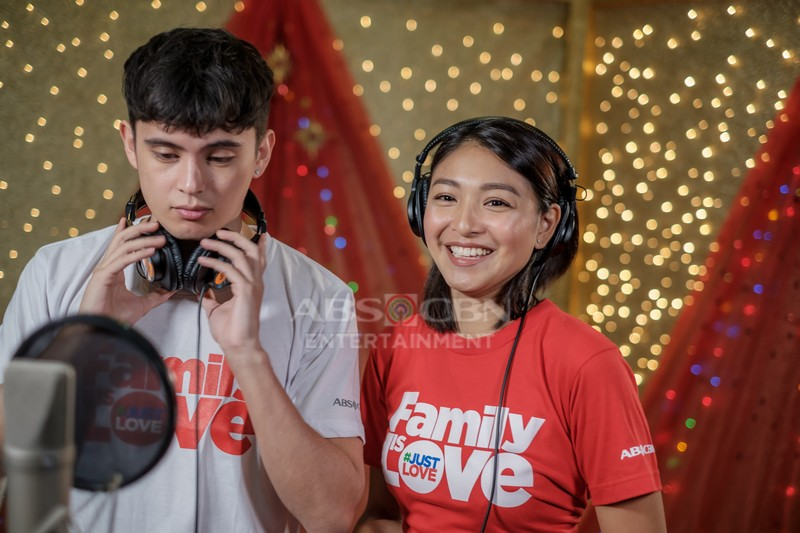 #FamilyIsLove: ABS-CBN Christmas Station ID 2018 Recording Photos