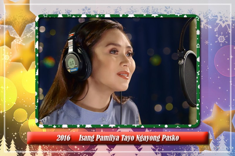 Sarah Geronimo always shines in ABS-CBN Christmas station IDs through the years