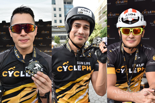 Sun Life Cycle PH: Star Magic Artists Bike to Healthier Lives