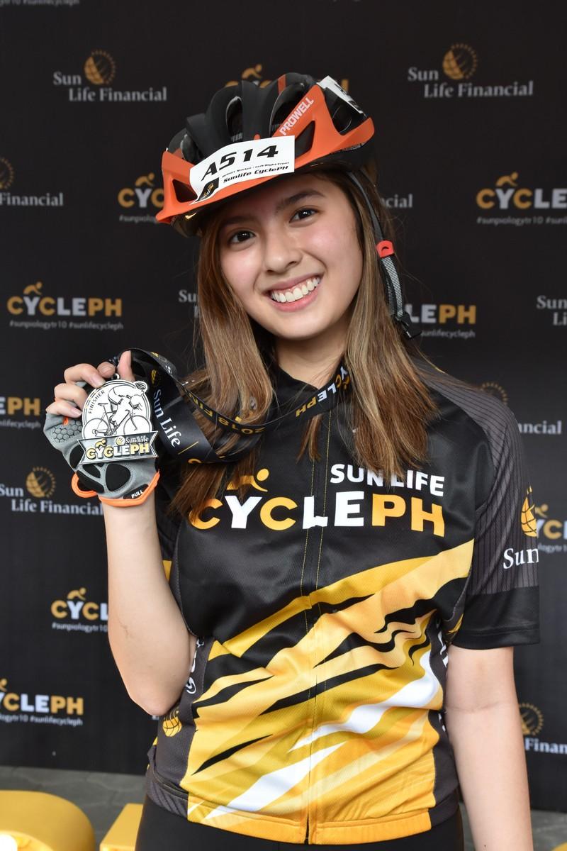 Sun Life Cycle PH: Star Magic Artists Bike to Healthier Lives