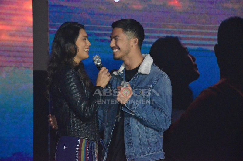 PHOTOS: Glorious stars Angel and Tony at the Family Is Love: The ABS-CBN Christmas Trade Event