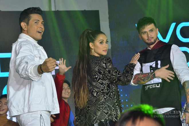 PHOTOS: World Of Dance Philippines Judges humataw sa Family Is Love Christmas Trade Event