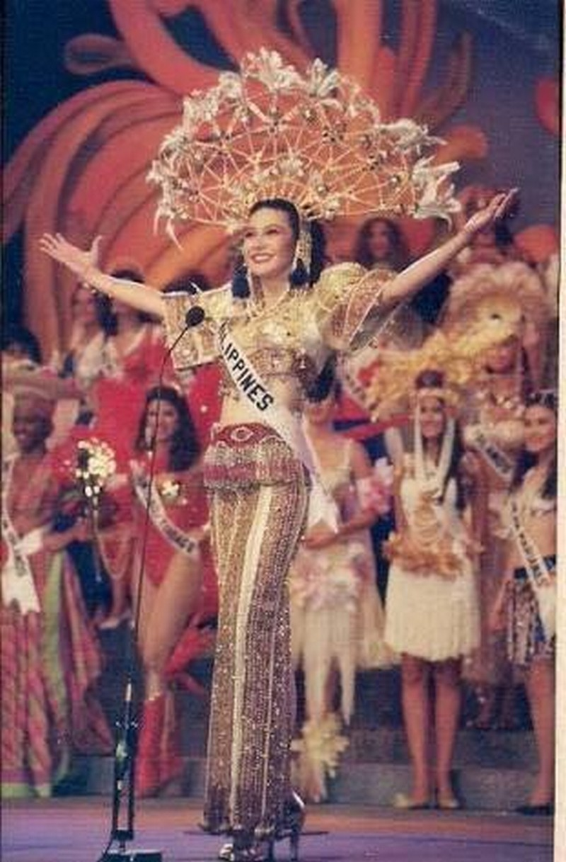 THROWBACK: National Costumes of PH Delegates at the Miss Universe