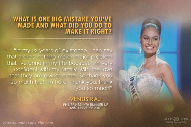 17 most memorable Q & As in the history of Miss Universe