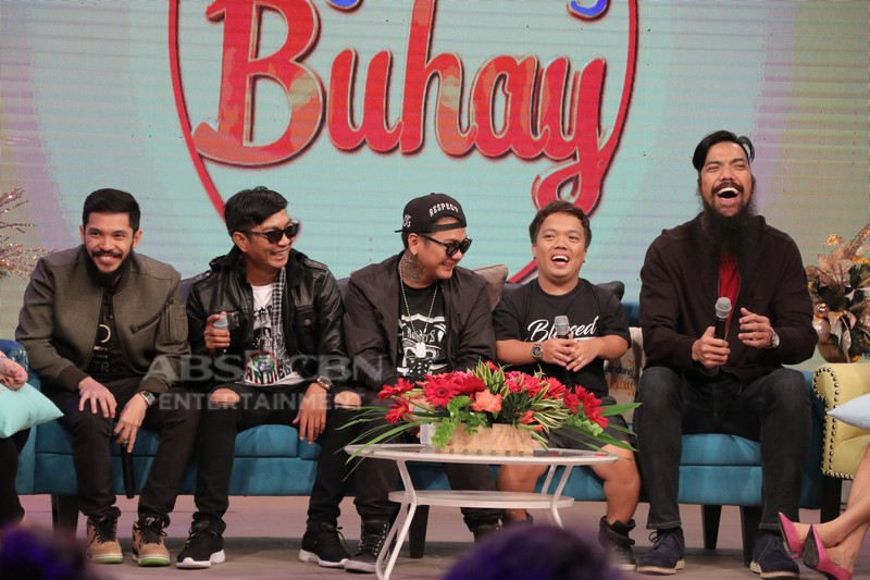 PHOTOS: Magandang Buhay with Bassilyo, Smugglaz, Sancho delas Alas, Big Mac and Hap Rice