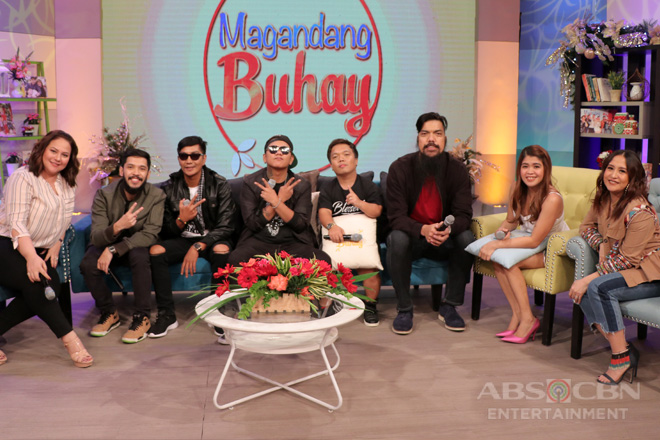PHOTOS: Magandang Buhay with Bassilyo, Smugglaz, Sancho delas Alas, Big Mac and Hap Rice