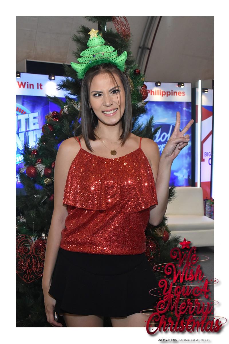 LOOK: Kapamilya celebrities in their merriest Christmas headbands
